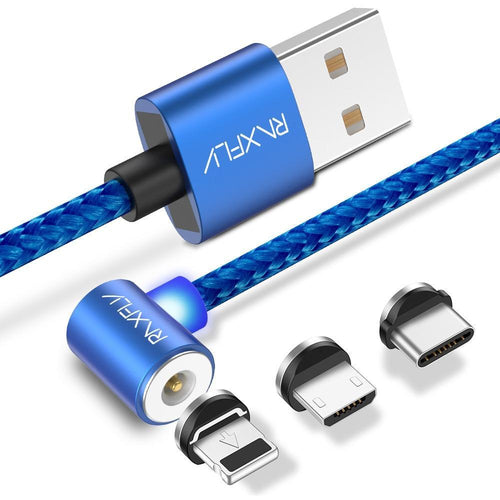 Magnetic USB Charging Cable (Type C/Micro USB/8 Pin)