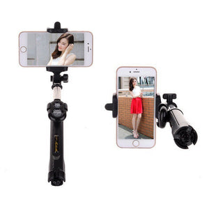 Selfie Stick Auto Selfie Stick And Tripod Clip For Smartphones - ElectroCat