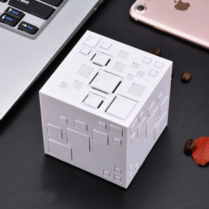 Bluetooth Speaker Magic Cube Subwoofer Stereo