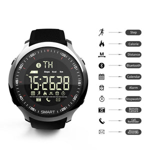 LOKMAT Smartwatch Waterproof Pedometer And Bluetooth For IOS/Android Smartphone
