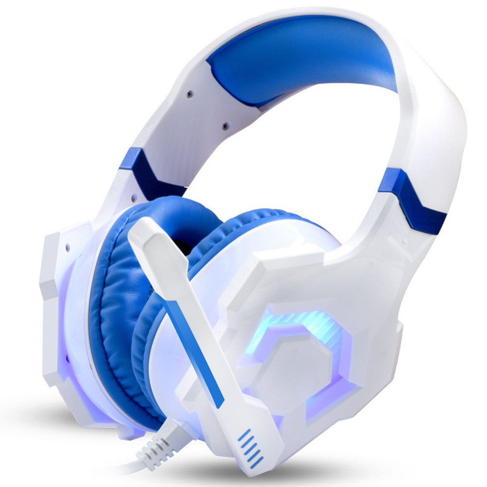 Noise Reduction Gaming Headset with LED Light