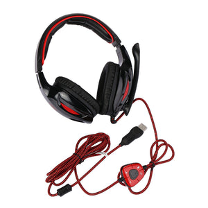 Headphone USB Wired 7.1 Surround Sound