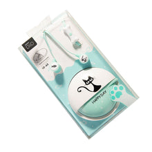 Load image into Gallery viewer, 3.5mm Cartoon Cat Earphones Headset with Microphone