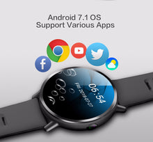 Load image into Gallery viewer, LEMFO LEMX Waterproof Smartwatch Android 7.1 With 8MP Camera And GPS For IOS/Android Smartphone