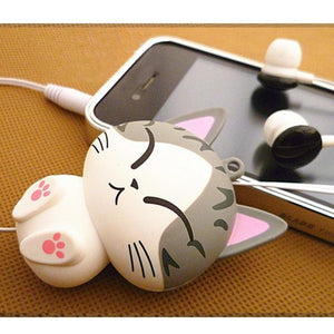 Cute Cat Earphones Earbuds 3.5MM Plug For Smartphone/Iphone - ElectroCat