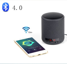 Load image into Gallery viewer, Mini Portable Bluetooth Speaker Wireless Column Bass Sound Stereo Subwoofer Handsfree AUX TF Card USB MP3 Player For Phone PC
