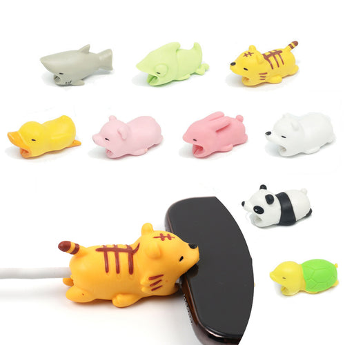 Animal Bite Cable Protector Phone Charm - ElectroCat