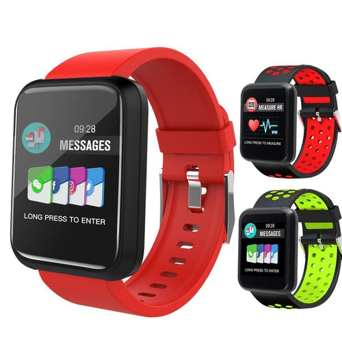 LEMFO Smartwatch Fitness Tracker Monitor With Bluetooth For IOS/Android Smartphone