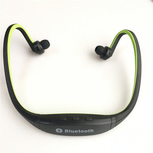 Bluetooth Earphones with SD Card Support and Microphone