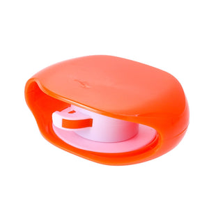 Automatic Roll Protection for Earphones' Cable Orange