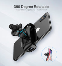 Load image into Gallery viewer, Car Phone Holder Air Vent Mount for Smartphone/iPhone