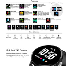 Load image into Gallery viewer, LEMFO V11 Sport Vitals Tracker Smartwatch For IOS/Android Smartphone