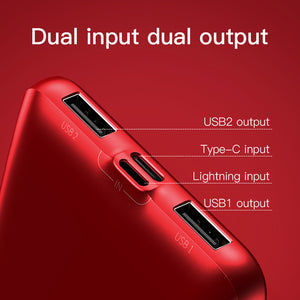 Baseus 10000mAh Qi Wireless Charger Power Bank For iPhone XS Max Samsung Xiaomi Dual USB LCD External Battery Wireless Powerbank