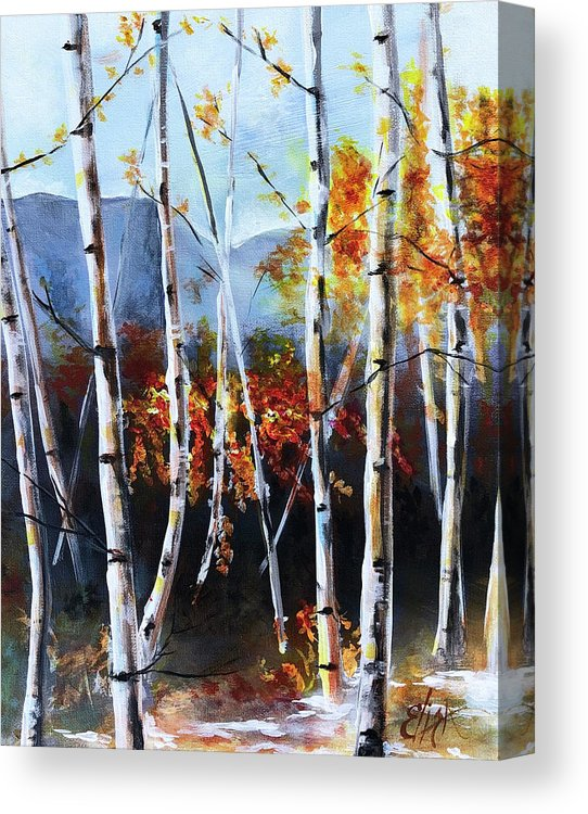 """White Birch Fall"""