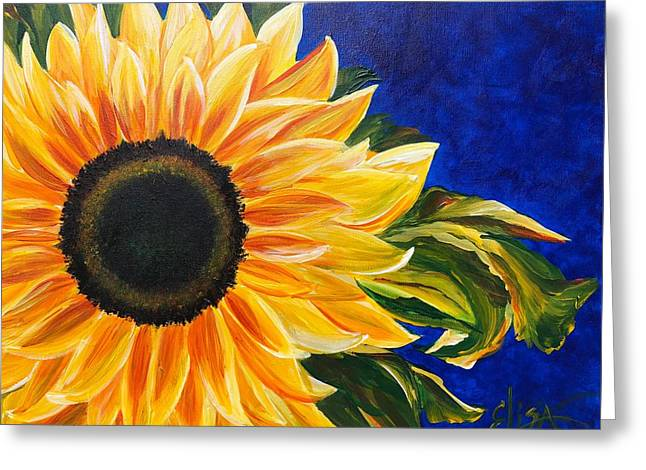 Bold Sunflower - Greeting Card