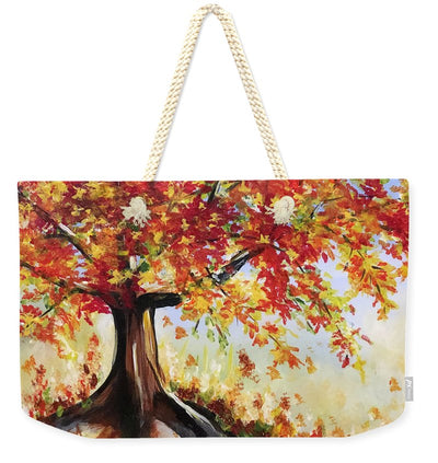 Fall Tree - Weekender Tote Bag