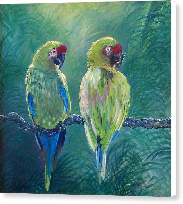 Love Birds - Canvas Print