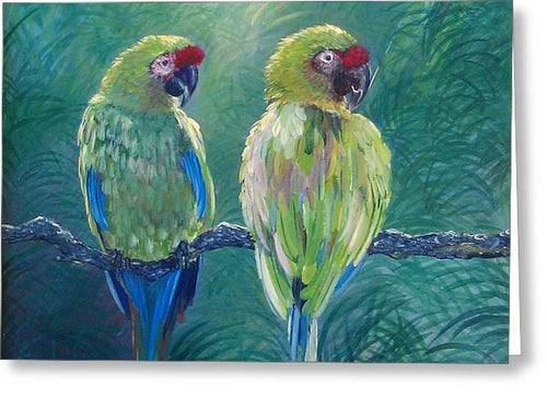 Love Birds - Greeting Card