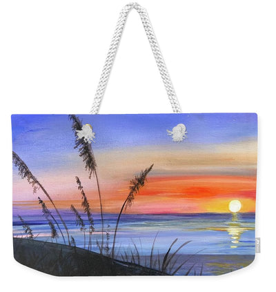Sunrise at the beach - Weekender Tote Bag