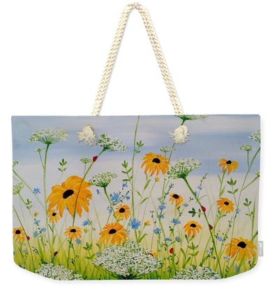 Whimsical Wildflowers - Weekender Tote Bag