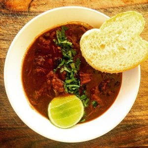 Adobo Beef Cheek Chilli Con Carni