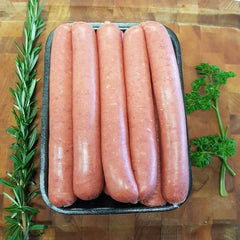 Organic Beef Sausages - Preservative and Gluten Free
