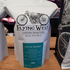Flying West Coffee Beans  'Little Friend' blend  (whole beans) 250g