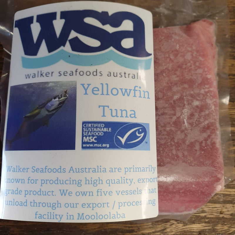 Yellowfin Tuna Fillets - approx. 200g per portion