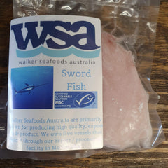 Swordfish Fillets - approx. 200g per portion
