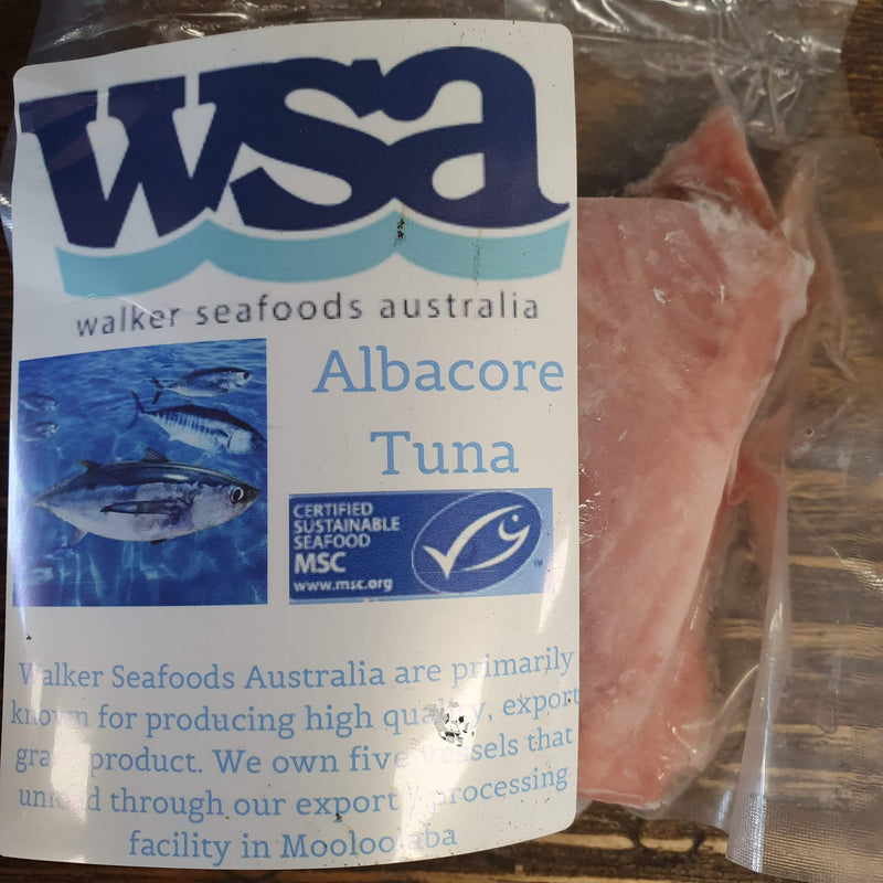 Albacore Tuna Fillets - approx. 150g per portion