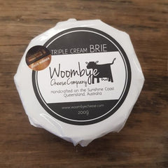 Woombye Cheese Company - Triple Cream Brie