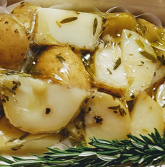 Potatoes Organic - Roast in duck fat with Garlic and Rosemary