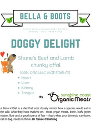 Bella & Boots 'Doggy Delight'  - 850g