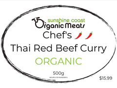 Chef's Organic Thai Red Beef Curry