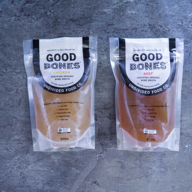 Good Bones - Beef - Certified Organic Bone Broth - approx. 500ml