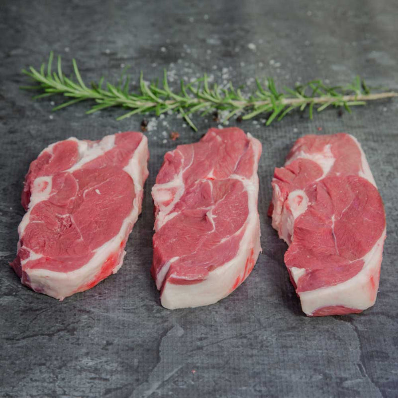 Lamb Chump Chop Organic - approx. 150g per portion