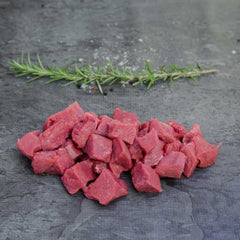 Diced Lamb Organic - approx. 500g per portion