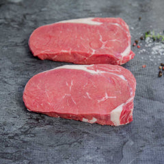 Rib Fillet Steak Natural - approx. 220g per portion