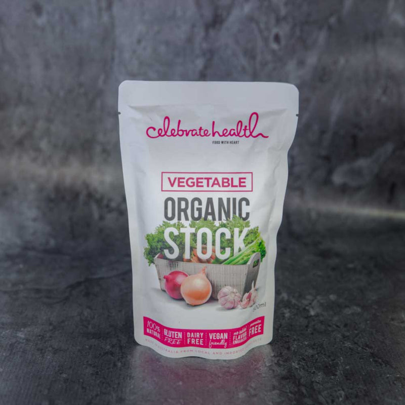 Celebrate Health Vegetable Organic Stock - approx. 500ml