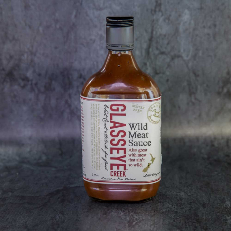 Glasseye Wild Meat Sauce - approx. 375ml
