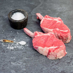 Rib Fillet On Bone Organic - approx. 550g per portion