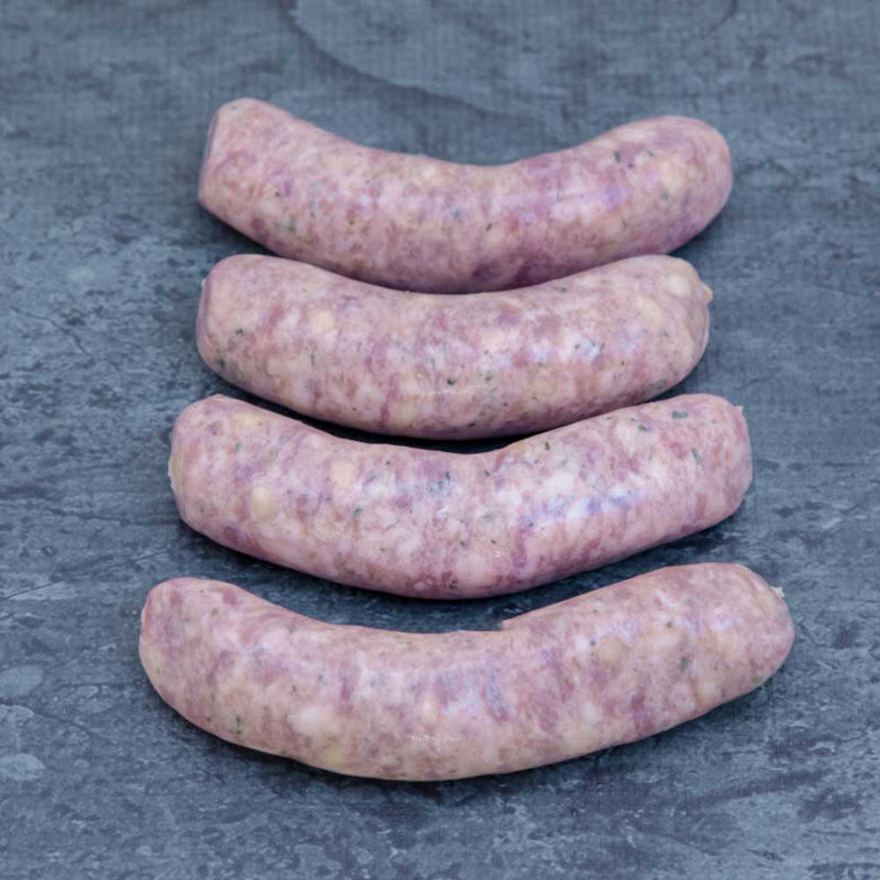Apple Cider Pork Sausages Gluten Free