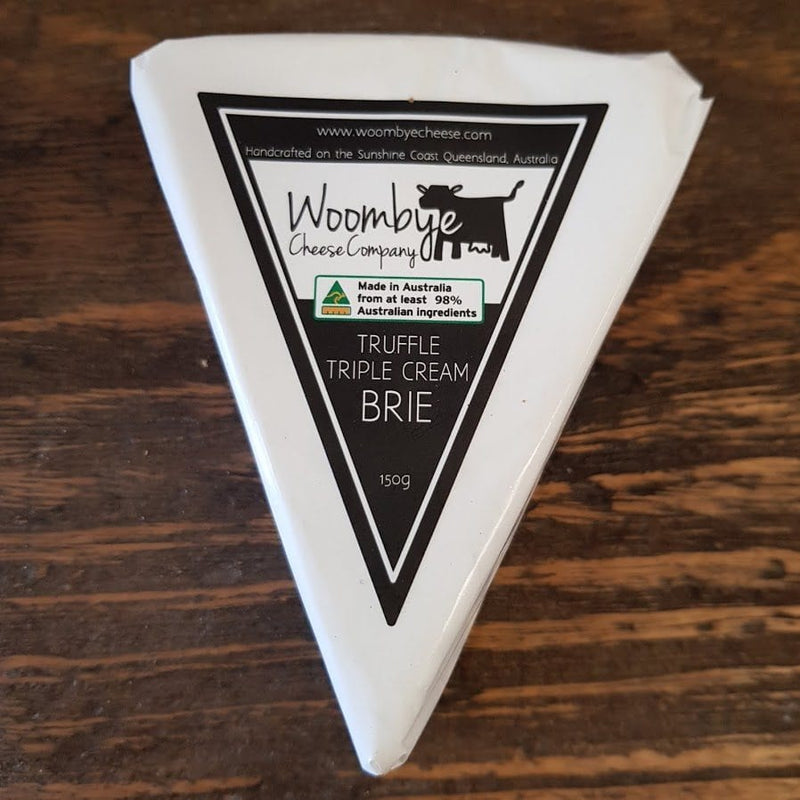 Woombye Cheese Company - Truffle Triple Cream Brie