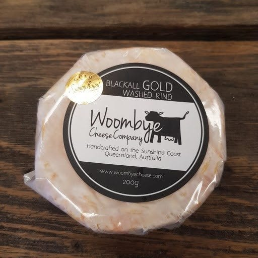 Woombye Cheese Company -Blackall Gold - Washed Rind
