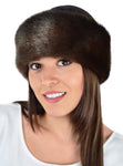 mink faux fur headband