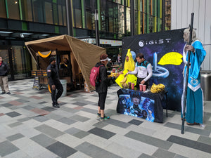 Banana Standoff: IGIST Hosts Competing Banana Stand at Amazon HQ