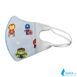 10 pcs 1 - 3 years old Baby's Disposable 3D Face Mask w/ Hero's Design