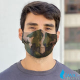10 pcs Disposable Face Mask w/ Camouflage Design