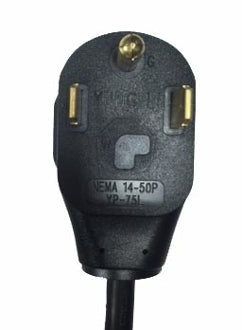 Adapter A - NEMA 14-XX plug to NEMA L6-20 receptacle
