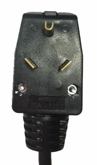Adapter D - TT-30 plug to NEMA L6-20 receptacle